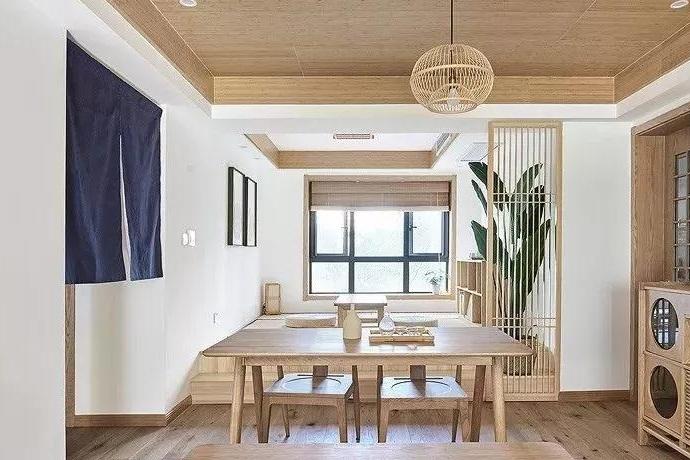 130㎡禅意日式风,宁静温馨,清新淡雅的暖心三居室!