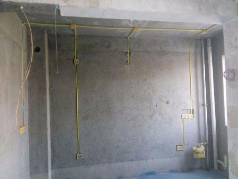 大同御锦源140平米欧式风格水电阶段