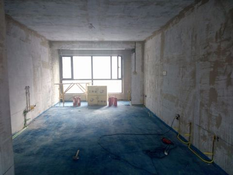 大同御锦源140平米欧式风格油漆阶段