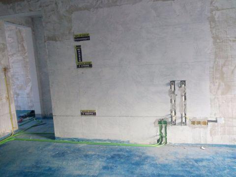 大同铂蓝原著177平米中式风格油漆阶段