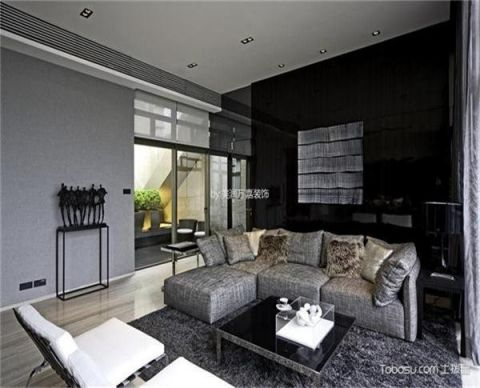 北京北京玫瑰园小区120平米简约风格竣工阶段