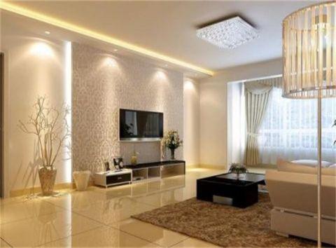 北京首城国际中心90平米现代欧式风格竣工阶段