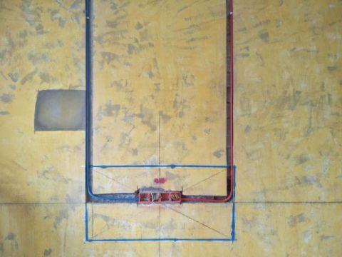 重庆御龙天峰110平米简欧风格水电阶段