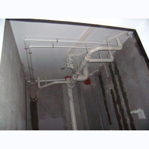 北京华业东方玫瑰65平米美式风格水电阶段