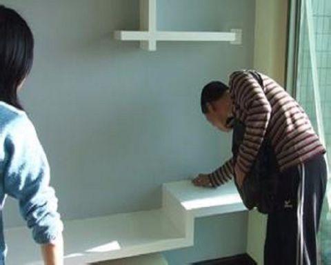 北京定慧寺东里14号楼78平米地中海风格竣工阶段