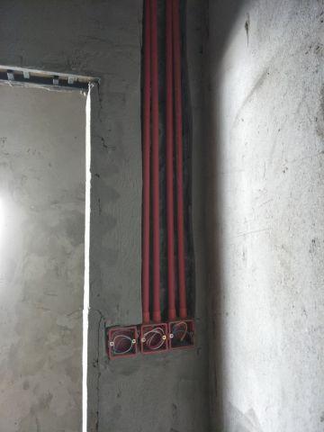 上海三迪曼哈顿46平米日式风格水电阶段