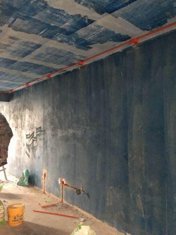 青岛海尔地产首府新古典主义139平米新古典风格油漆阶段
