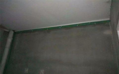 南京金地自在城120平米欧式风格水电阶段