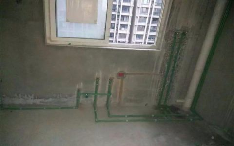 北京金地自在城120平米欧式风格水电阶段