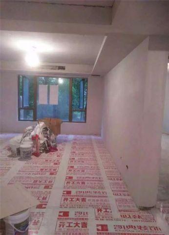 北京金地自在城120平米欧式风格油漆阶段