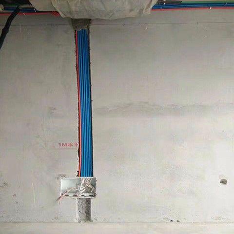 扬州紫金文昌175平米简约风格水电阶段