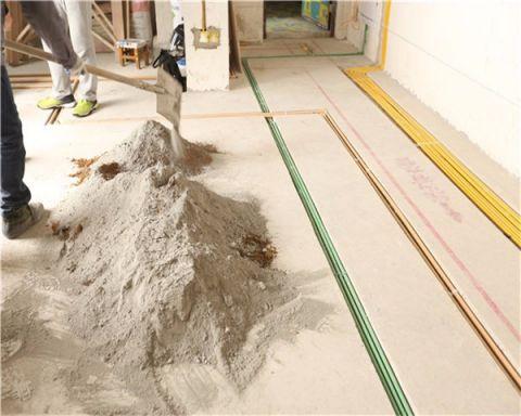 武汉二七新电江岸生活广场132平米混搭风格泥木阶段