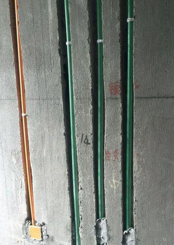 无锡朗诗太湖绿郡90平米日式风格水电阶段
