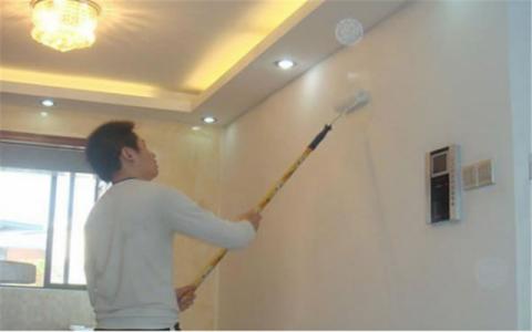 西安天浩上元郡145平米美式风格油漆阶段
