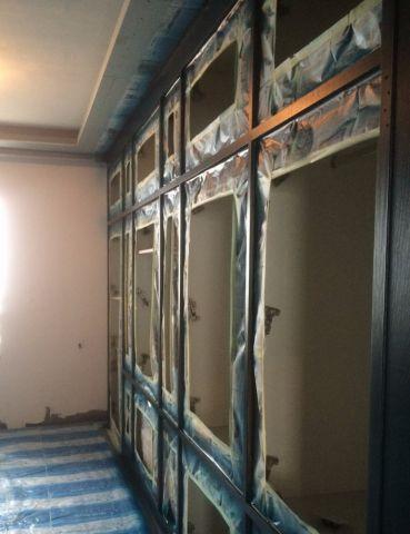 郑州商都嘉园186平米新中式风格油漆阶段