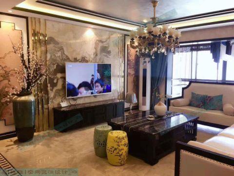 郑州商都嘉园186平米新中式风格竣工阶段