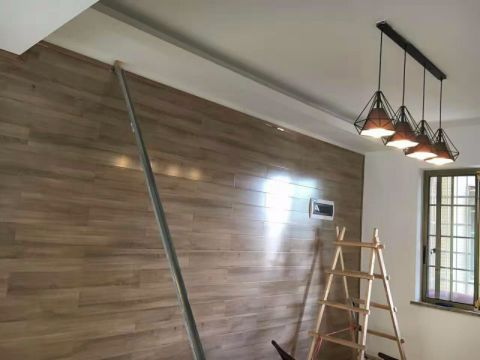 上海尚海湾120平米现代欧式风格油漆阶段