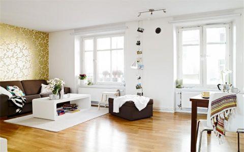 无锡融创理想城市60平米现代简约风格竣工阶段