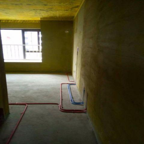 洛阳香榭里阳光125平米简欧风格水电阶段