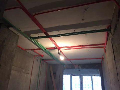 上海新翔公寓80平米美式风格水电阶段