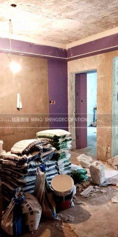 杭州嘉绿景苑107平米美式风格泥木阶段
