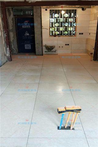 杭州古荡新村东55平米现代风格泥木阶段