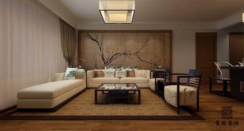 青岛金玉良缘小区125平米现代风格