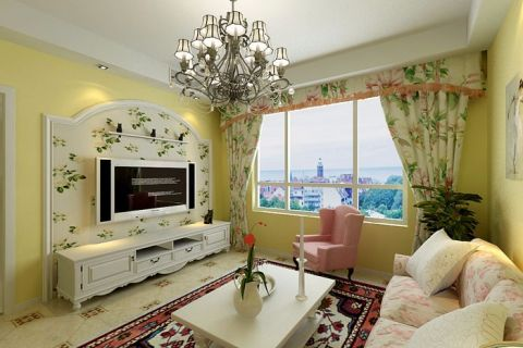 天津天津远洋城61平米现代简约风格