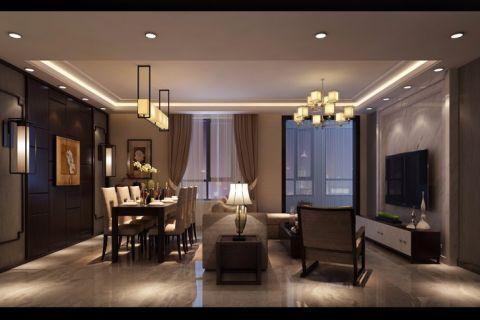 天津龙滨园160平米现代简约风格