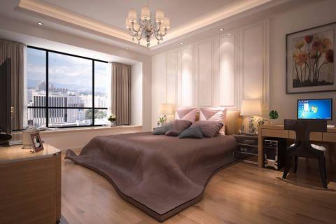 深圳文雅豪庭86平米新中式风格