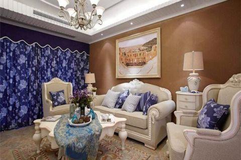 南京化工新村95平米美式风格