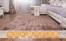 地毯和窗帘的选购