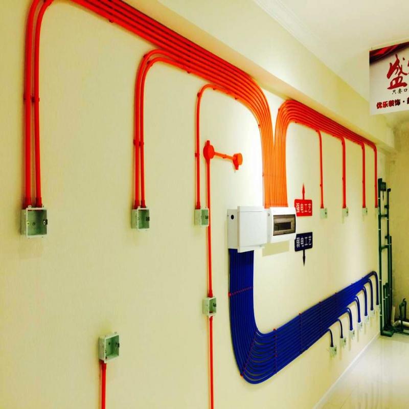 水电工艺展示