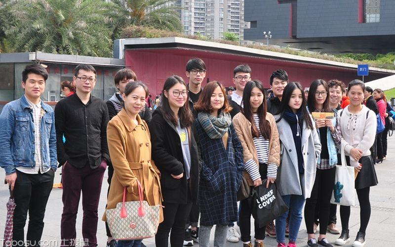 设计部组织参观广东省省博物馆