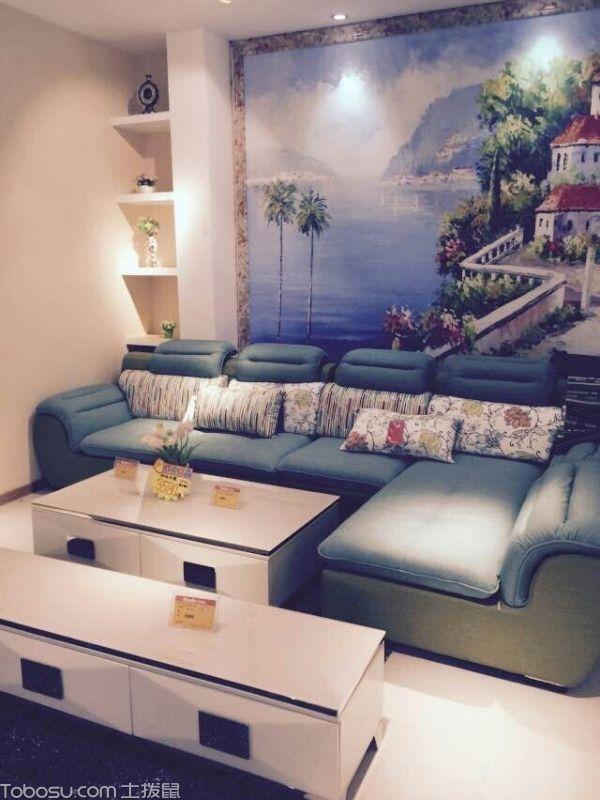 展厅-沙发,茶几