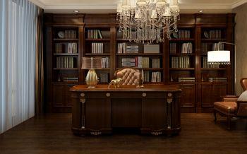 书房欧式风格效果图