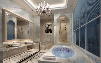 卫生间白色吊顶欧式风格效果图
