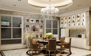 餐厅灰色照片墙欧式风格装饰效果图