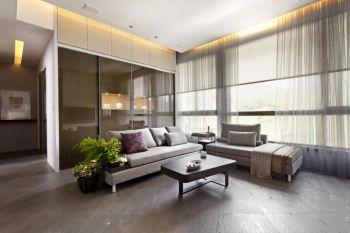 三居室家装案例现代简约装修图片