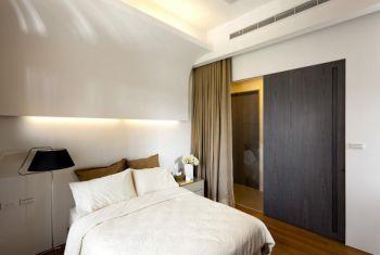 卧室白色现代简约风格效果图