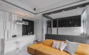 现代简约60平米公寓装修效果图