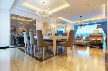 庭宜小区现代欧式风格四居室装修效果图