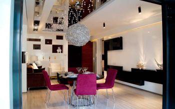 餐厅现代简约风格装潢效果图
