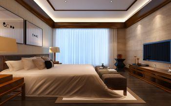 卧室新中式风格装饰效果图