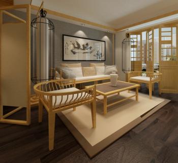碧桂园日式小户型家居装修效果图