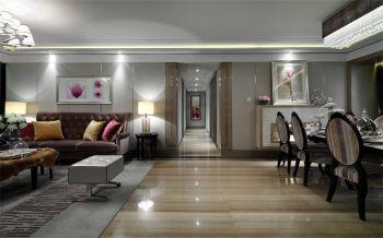 客厅走廊新古典风格装潢效果图