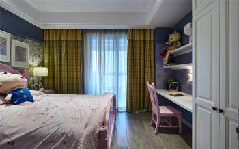 儿童房窗帘新古典风格装饰图片