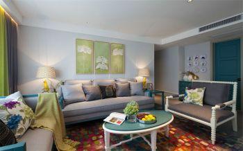 客厅背景墙新古典风格效果图