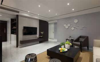 现代简约格调二居室装修效果图