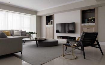 现代简约风格90平米两居装修效果图